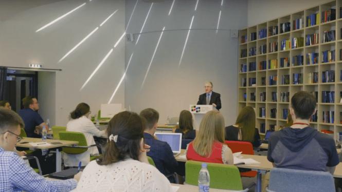 имиджевые рекламные ролики о школе международного публичного права
